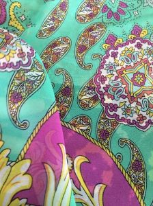 Colorful Printing Polyester Chiffon Fabrics for Dresses pictures & photos