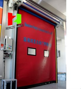 Auto-Recovery Rapid Roll High Speed Door Factory Made (Hz-FC065) pictures & photos