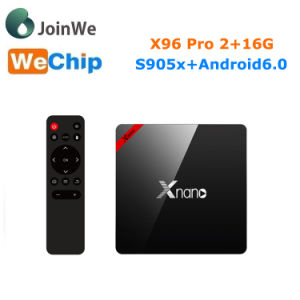 X96 PRO Smart Android TV Box Amlogic S905X Set Top Box pictures & photos