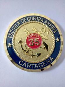Custom 3D Gold Gift Coin/Souvenir Coins with Wheel Border pictures & photos