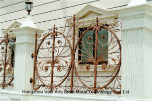 Customized Delicate Decorative European Welded Garden Fence pictures & photos