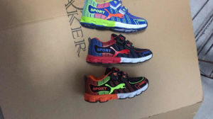 2017 Kids Fashion Sports Running Leisure Shoes pictures & photos