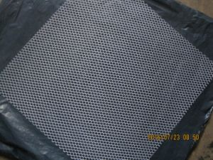 Hexagonal Polyester Mesh for Strengthening Mosaic Back Mounting pictures & photos