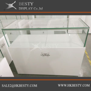Jewelry Display Counter Showcase in Simple Style pictures & photos