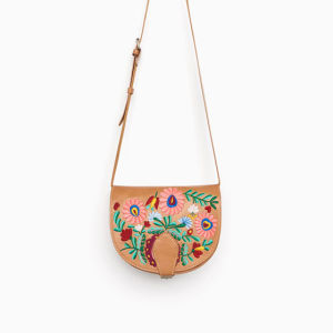 Embroidery Fashion Satchel Saddle Bag pictures & photos