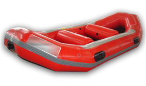 New Design Red Inflatable Fishing Boat/Inflatable Raft Boat (CHW111) pictures & photos