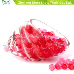 Bullet Gel Ball Mini Round Red Crystal Soil Water Beads pictures & photos