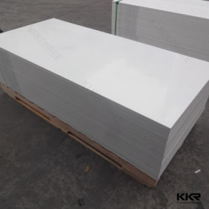 Kkr Glacier White Solid Surface Acrylic Sheet in China pictures & photos