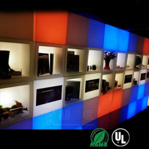 """LED Cube 8"""" Table Lamp Rechargeable Remote Control Lighting pictures & photos"""