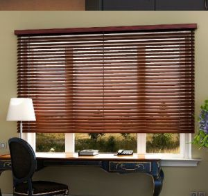 Horizontal Slat Wooden Venetian Window Blinds for Home Decor pictures & photos