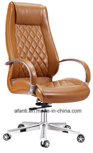 Modern Swivel Wooden Leather Executive Office Task Manager Chair (RFT-A2014-1) pictures & photos