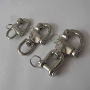Stainless Steel Swivel Snap Shackle with Eye pictures & photos