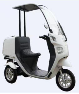 High Quality 3 Wheel Electric Motorcycle for Disabled pictures & photos