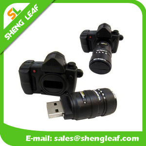 Gifts 3D Rubber Customized PVC USB Flash Drives (SLF-RU032) pictures & photos