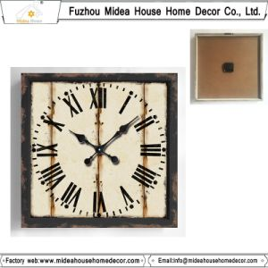 New Product Decorative Wall Clock Wood pictures & photos