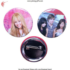 Customized Button Tin Badge for Promotion Gifts (YH-TB003) pictures & photos