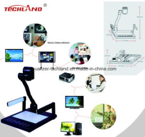 3.2MP Black Desktop Visualizer for School Supply pictures & photos