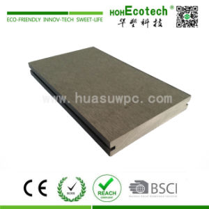 WPC (wood plastic composite) Solid Decking Board for Outdoor Decoration pictures & photos