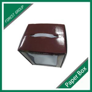 Color Printed Cardboard Box with PVC Window pictures & photos