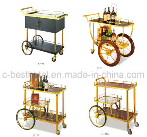 Luxury Hotel Restaurant Wine Service Cart pictures & photos