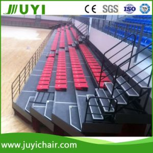 Mobile Telescoping Hydraulic Lift Platform Retractable Seating System Telescopic Bleacher Jy-769 pictures & photos