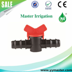 Plastic Mini Drip Valve for Irrigation Drip Tape (MS-20A) pictures & photos