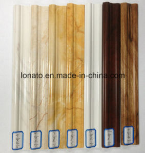 New Laminated High Quality PVC Cornice for Interior Decoration Moulding pictures & photos