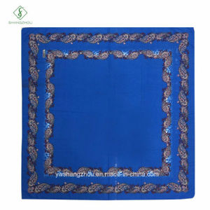 New Arrival 110*110cm Square Scarf French Cotton Printed Muslim Hijab pictures & photos