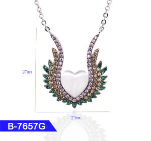 Wholesale Model 925 Sterling Silver or Brass Personalized Jewelry CZ Pendant for Girls pictures & photos