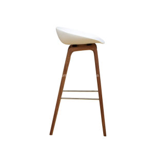 Hay Chair Plastic Seattop Wooden Bar Stool pictures & photos