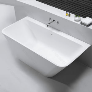 """59"""" Acrylic Solid Surface Freestanding Soaking Bathtub pictures & photos"""