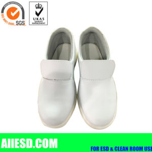 Dust Free PU Sole Anti Static Safety Shoes pictures & photos