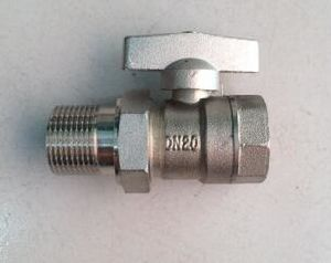 Female/Male Thread Brass Stop Ball Valve pictures & photos