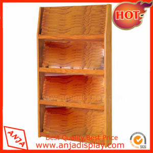 Wooden Makeup Display Cabinet Cosmetic Display Shelf pictures & photos