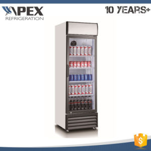 Single Glass Door Display Cooler, Beverage Cooler, Chiller, Fridge pictures & photos
