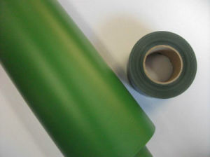 0.07mm 0.1mm 0.12mm Thickness 691color Green PVC Film for Fence pictures & photos