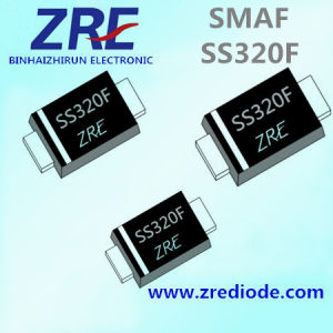 3A Ss32f Thru Ss320f Schottky Barrier Rectifier Diode Smaf Package pictures & photos