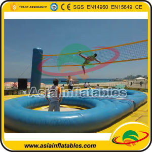 Inflatable Sport Game Inflatable Bossaball Game Bossaball Court for Adult pictures & photos