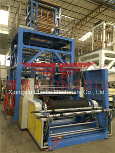 1100mm LDPE Film Blowing Machine with Single Auto Winder pictures & photos