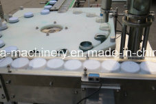 Glass Syrup Jars Filling Capping Machine pictures & photos