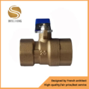 Dn20 Brass Ball Valve with Iron Handle pictures & photos