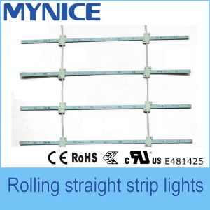 2835 12V High Brightness High Power LED Rigid Bar Light for Large Double Side Light Box pictures & photos