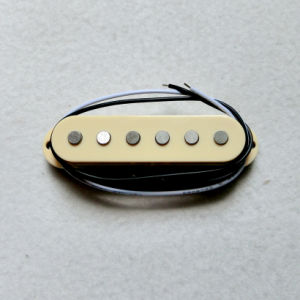 Quality AlNiCo Flat Single Coil Guitar Pickup for Strat Guitar pictures & photos
