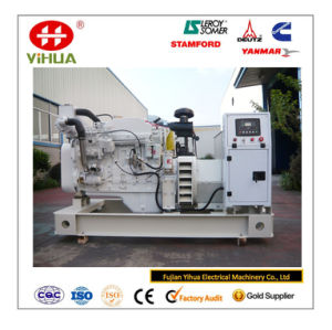 Cummins Engine Open Frame 160kVA/128kw Marine Diesel Generator Set for Ship pictures & photos