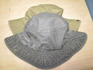 Safari Hat Fisherman Hat Hunter Hat Pigment Washed Bucket Hat pictures & photos