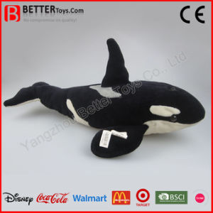 ASTM Realistic Stuffed Soft Plush Whale Toy pictures & photos