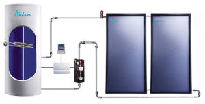 High Quality Split Pressurized Solar Water Heater pictures & photos