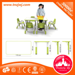 New Arrival Preschool Plastic Childrens Table and Chairs pictures & photos