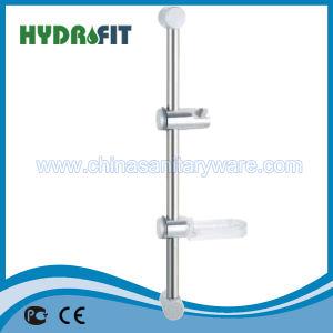 Brass Shower Sliding Bar Shower Head Slide Bar Shower Column (HY504) pictures & photos