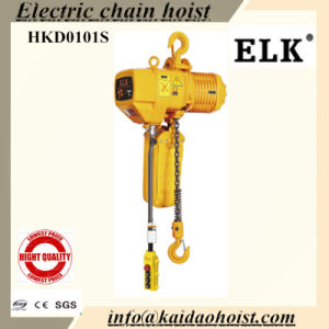 1 Ton Double Speed Manual Trolley Electric Chain Hoist Forklift pictures & photos